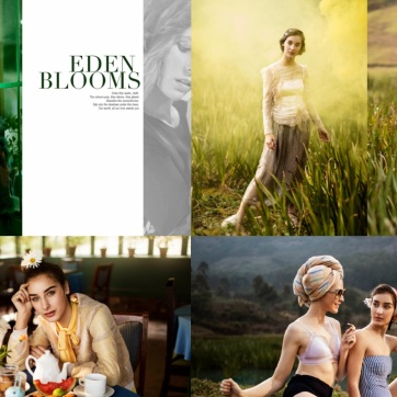 Eden Blooms Publication - India Spanish Magazine shot in Munnar, India Photographer: Arun Mathew