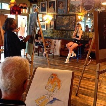 Debbie Hinks Life Drawing Class