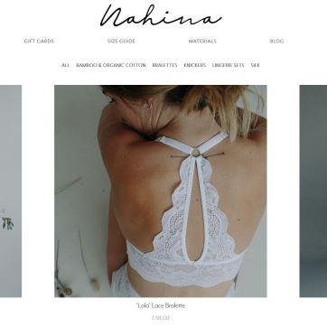 Nahina Lingerie